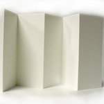 Bazzill Basics Accordion Cardstock - Policy - White-OP