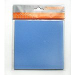 Bazzill Basics Accordion Cardstock - Square - Pacific, CLEARANCE