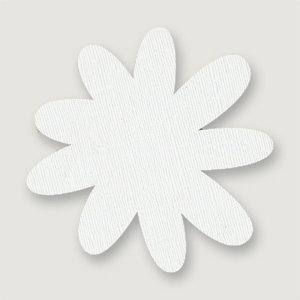 Bazzill Basics - Really Big Flower Chips - 9 Petal Flower