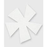 Bazzill Basics - Really Big Flower Chips - Pinwheel Flower, CLEARANCE