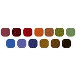 Bazzill Basics Inspirations Cardstock Pack - 8.5 x 11 - Dark Orange Peel Texture