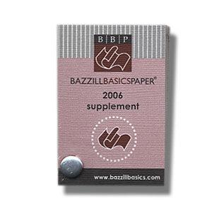 Bazzill Basics Swatch Book - Supplement