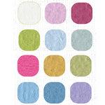 Bazzill Basics Inspirations Cardstock Pack - 12 x 12 - Light Orange Peel Texture