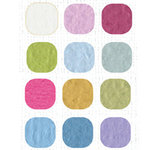 Bazzill Basics Inspirations Cardstock Pack - 8.5 x 11 - Light Orange Peel Texture
