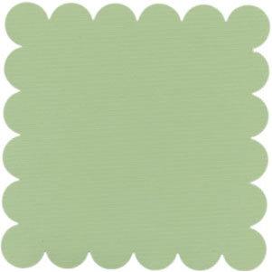 Bazzill Basics - 12x12 Scalloped Cardstock - Apple Green