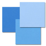 Bazzill Basics - Monochromatic Trio Packs - 12x12 - Pauly-Poo, CLEARANCE