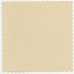 Bazzill Basics - 12x12 Mini Scallop Cardstock - Light Sand