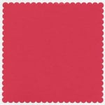 Bazzill Basics - 12x12 Mini Scallop Cardstock - Wildberry