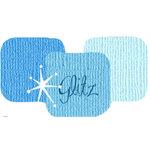 Bazzill Basics - Bazzill Bling Trios - Shimmer Cardstock - Glitz Bling