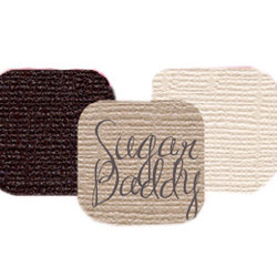 Bazzill Basics - Bazzill Bling Trios - Shimmer Cardstock - Sugar Daddy Bling