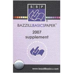 Bazzill Basics Swatch Book - Supplement 2007