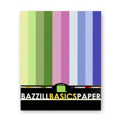 Bazzill - 8.5x11 Carstock Multipack - Burlap Cool