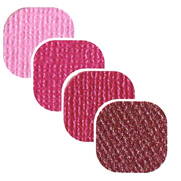 Bazzill Basics - Bazzill Bling - 4 Colors - 8.5x11 Cardstock - Strawberry Daiquiri Bling, CLEARANCE