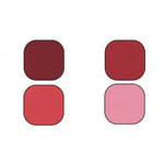 Bazzill Basics - Bazzill Smoothies - 4 Colors - 8.5x11 Cardstock - Pomegranate Splash