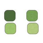 Bazzill Basics - Bazzill Smoothies - 4 Colors - 8.5x11 Cardstock - Kiwi Crush, CLEARANCE