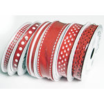 Bazzill Basics - Ribbon Bulk Pack - 90 Yards - Red, CLEARANCE