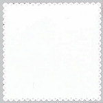 Bazzill Basics - 12x12 Mini Scalloped Cardstock with Small Eyelets - Brilliant White