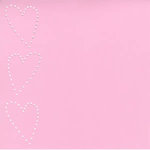 Bazzill Basics - In Stitch'z Cardstock - Hearts - Romance, CLEARANCE