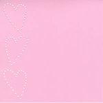 Bazzill Basics - In Stitch'z Cardstock - Hearts - Romance, CLEARANCE
