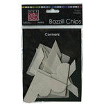 Bazzill Basics - Chips - Die Cut Chipboard Shapes - Corners, CLEARANCE
