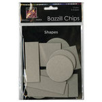 Bazzill Basics - Chips - Die Cut Chipboard Shapes - Shapes, CLEARANCE