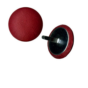 Bazzill Basics - Paper Brads - Pomegranate, CLEARANCE