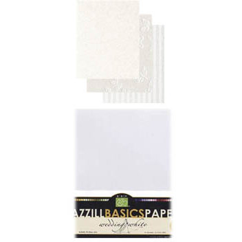 Bazzill Basics - 8.5x11 Carstock Multipack - Wedding White, CLEARANCE