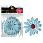 Bazzill Basics - Paper Flowers - Gerbera 4 Inch - Whirlpool, CLEARANCE