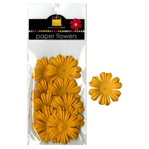 Bazzill Basics - Paper Flowers - Primula 1.5 Inch - Candle