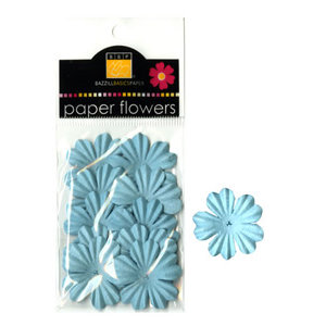 Bazzill Basics - Paper Flowers - Primula 1.5 Inch - Whirlpool