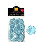 Bazzill Basics - Paper Flowers - Primula 1 Inch - Whirlpool