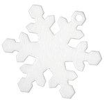 Bazzill Basics - Chips - Chipboard Tags - Snowflake