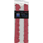 Bazzill Basics - Just the Edge - 12 Inch Cardstock Strips - Ruby Red, CLEARANCE