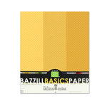 Bazzill - Dotted Swiss - 8.5 x 11 Cardstock Pack - 15 Sheets - Honey Trio