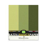 Bazzill - Dotted Swiss - 8.5 x 11 Cardstock Pack - 15 Sheets - Cloverleaf Trio