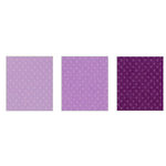 Bazzill Basics - Dotted Swiss - 8.5 x 11 Cardstock Pack - 15 Sheets - Plum Pudding Trio