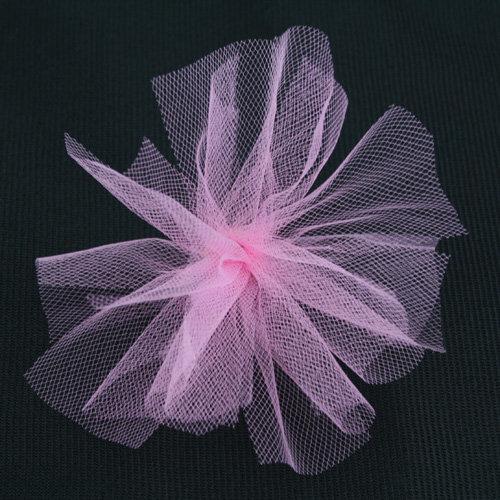 Bazzill Basics - Ribbon - 25 Yards - 3 Inch Tulle - Petunia