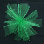 Bazzill Basics - Ribbon - 25 Yards - 3 Inch Tulle - Grasshopper, CLEARANCE