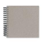 Bazzill Basics - Spiral Chipboard Album - 8 x 8