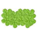 Bazzill Basics - 1.75 Inch Paper Flowers - Tropical Lemon Lime, CLEARANCE