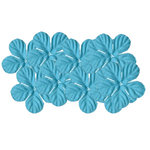 Bazzill Basics - 1.75 Inch Paper Flowers - Tropical Swimming Pool, CLEARANCE