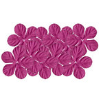 Bazzill Basics - 1.75 Inch Paper Flowers - Tropical Bubble Gum, CLEARANCE