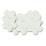 Bazzill Basics - 1.75 Inch Paper Flowers - Tropical White, CLEARANCE