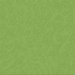 Bazzill - 12 x 12 Embossed Cardstock - Peek-a-boo Leaves - Parakeet