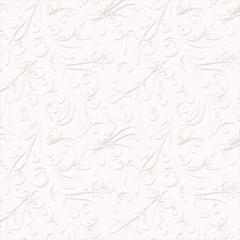 Bazzill Basics - 12 x 12 Embossed Cardstock - Vintage Vines - Bazzill White