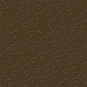 Bazzill - 12 x 12 Embossed Cardstock - Swirlpool - Geneva