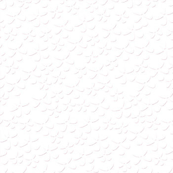 Bazzill - 12 x 12 Embossed Cardstock - Oopsy Daisy - Bazzill White