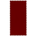 Bazzill Basics - Bulk Cardstock Pack - 25 Sheets - 5.5 x 11.5 Rectangle Scalloped - Dotted Swiss - Phoenix, CLEARANCE
