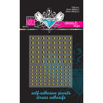 Bazzill Basics - Self Adhesive Jewels - 3 mm and 4 mm - Desert Sun, CLEARANCE