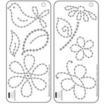 Bazzill - Jewel Templates - Garden